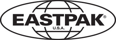 Padded Pak'r® Alpha Black Backpacks by Eastpak - Front view