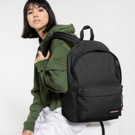 EASTPAK Out Of Office Backpack Black Denim Rucksack EK767-77H *UK Stockist