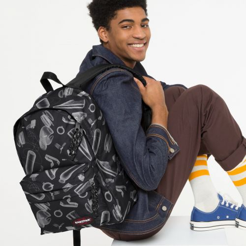Dodger Xray Black Backpacks by Eastpak - view 0