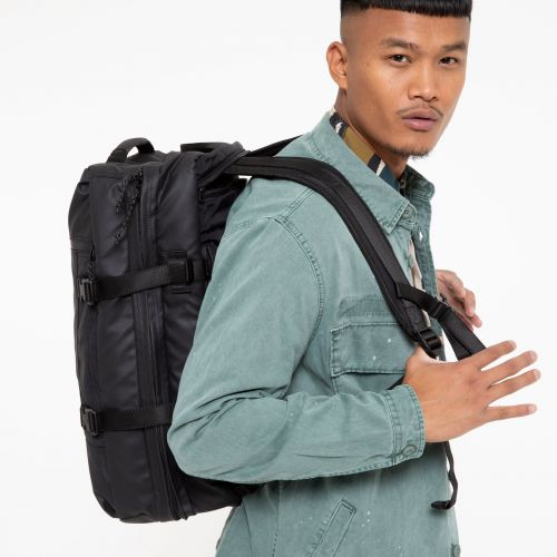 Tranzpack Surfaced Black Default Category by Eastpak - view 0