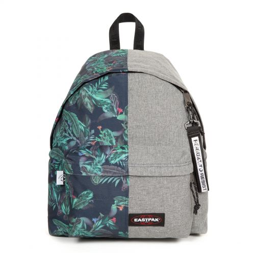 Re-built: Recycled Padded Pak'r® Tropic/Sunday grey