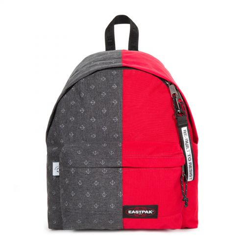Re-built: Recycled Padded Pak'r® Anker/Bright red