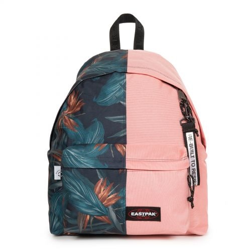 Re-built: Recycled Padded Pak'r® Brize dark/Salmon