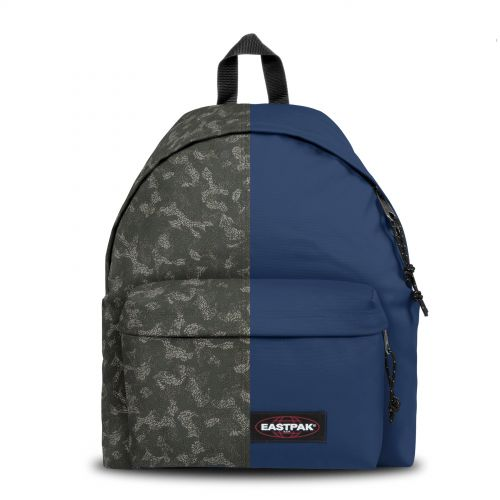 Re-built: Recycled Padded Pak'r® Camo'ed dot/Gulf blue