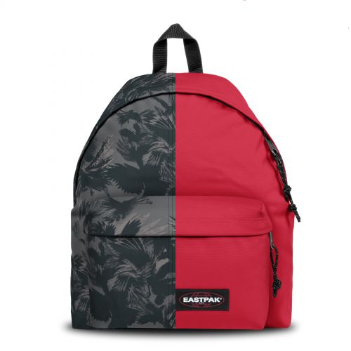 Re-built: Recycled Padded Pak'r® Dark forest black/Stop red