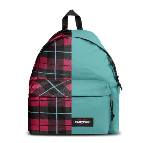 Re-built: Recycled Padded Pak'r® Unichecks pink/River blue