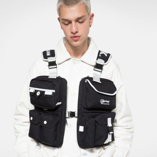 White Mountaineering Vest Bag Dark