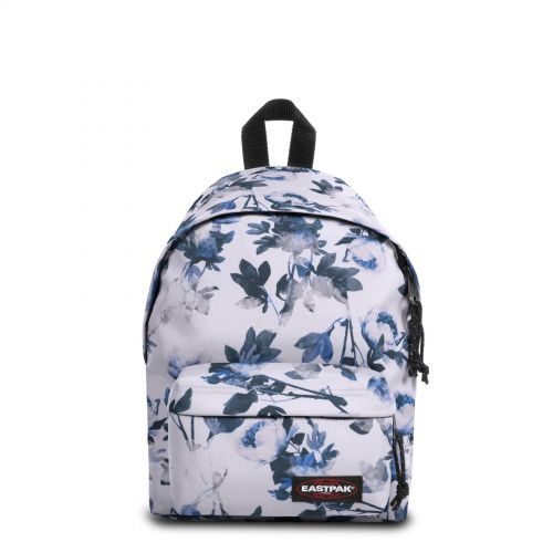 Orbit XS Romantic White Backpacks by Eastpak - Front view