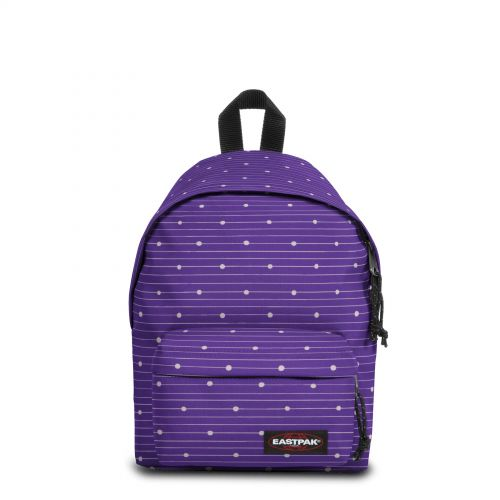 Orbit XS Little Stripe Backpacks by Eastpak - Front view