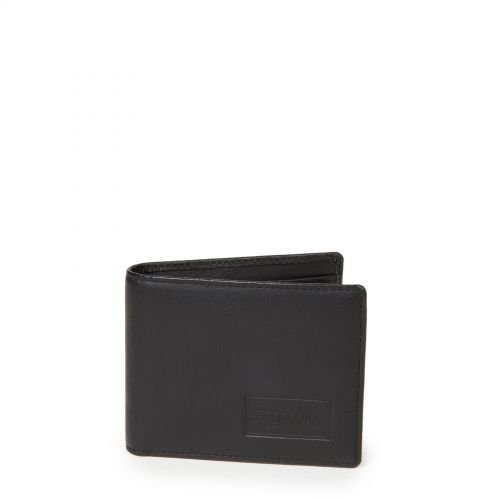 Drew RFID Black Ink Leather by Eastpak - Front view