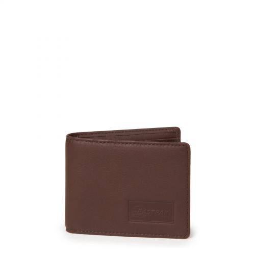 Drew RFID Chestnut Leather by Eastpak - Front view