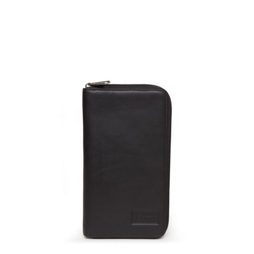 Tait RFID Black Ink Leather by Eastpak - Front view