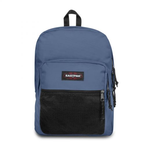 Pinnacle Humble Blue Backpacks by Eastpak - Front view