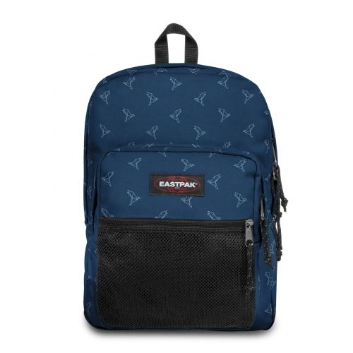 Pinnacle Minigami Blue Birds Backpacks by Eastpak - Front view