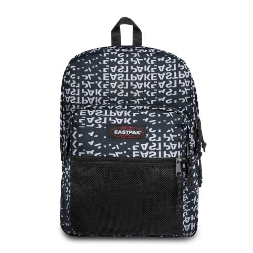 Pinnacle Bold Black Backpacks by Eastpak - Front view