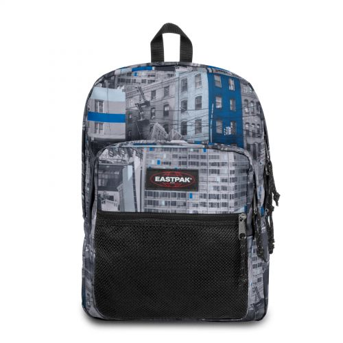 Pinnacle Chroblue Backpacks by Eastpak - Front view