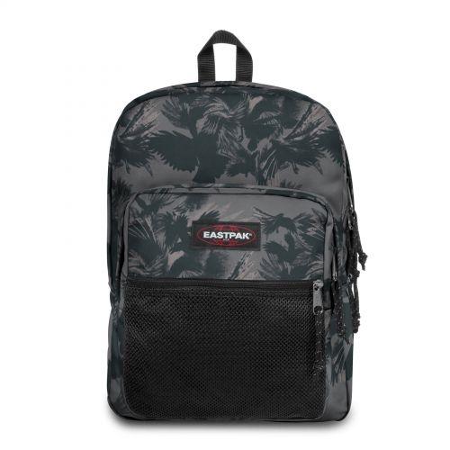 Pinnacle Dark Forest Black Backpacks by Eastpak - Front view