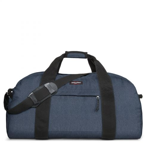 Terminal Double Denim Luggage by Eastpak - Front view