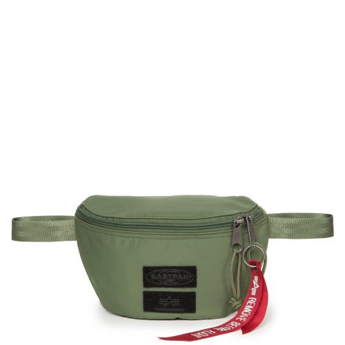 Springer Alpha Dark Green Accessories by Eastpak - Front view