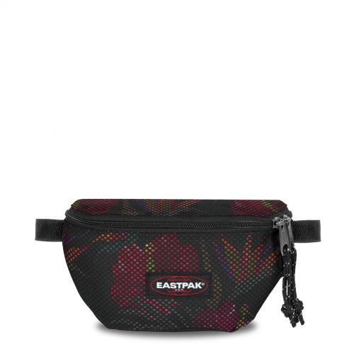 Springer Mesh Black Hibiscus Accessories by Eastpak - Front view