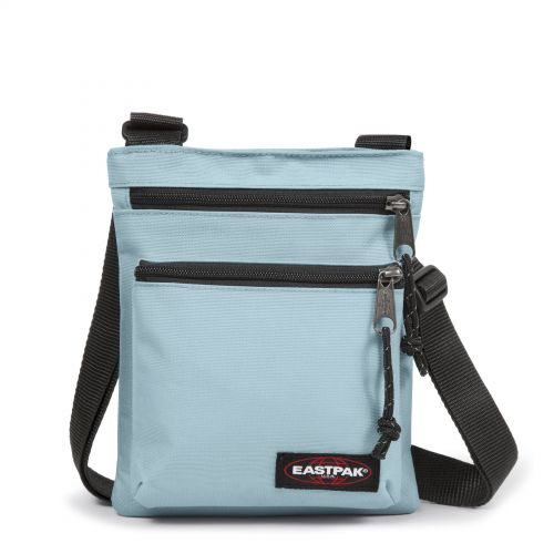 Rusher Sporty Blue Shoulderbags by Eastpak - Front view