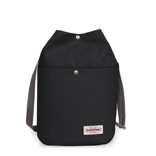 Piper Opgrade Black Backpacks by Eastpak - Front view