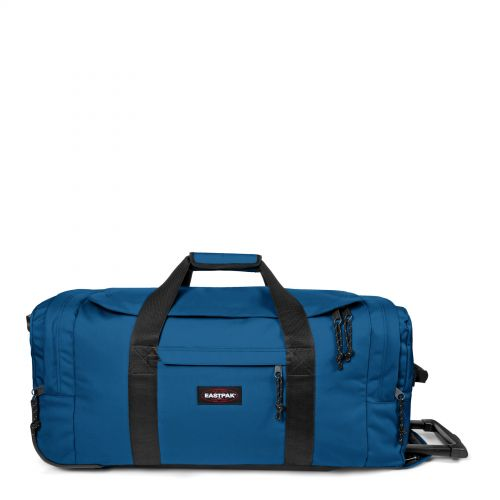 Leatherface M Urban Blue Luggage by Eastpak - Front view