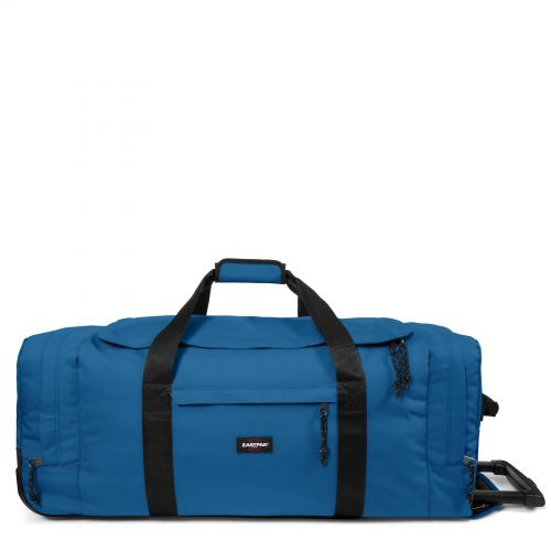 Leatherface L Urban Blue Luggage by Eastpak - Front view