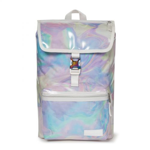 Topher Marble Transparent Backpacks by Eastpak - Front view