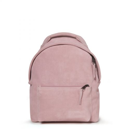 Orbit Sleek'r Suede Pink by Eastpak - Front view