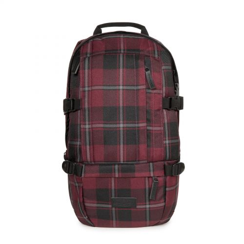 Floid Mono Wine Checks Backpacks by Eastpak - Front view