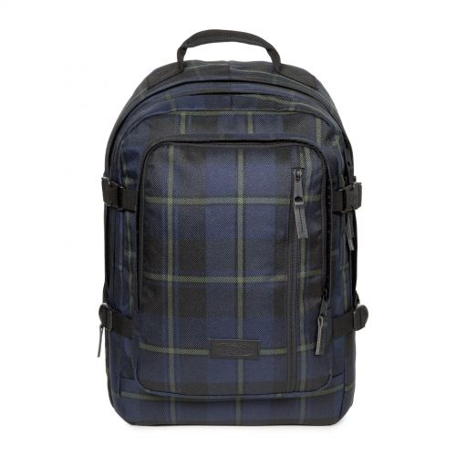 Volker Mono Night Checks Backpacks by Eastpak - Front view
