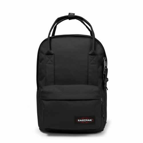 Padded Shop'R Black Backpacks by Eastpak - Front view