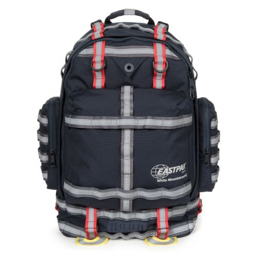 White Mountaineering Killington Navy Backpacks by Eastpak - Front view