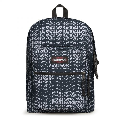 Pinnacle L Bold Black Backpacks by Eastpak - Front view