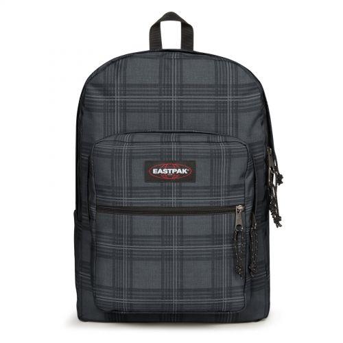 Pinnacle L Chertan Black Backpacks by Eastpak - Front view