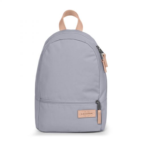 Lucia M Super Lilac Backpacks by Eastpak - Front view