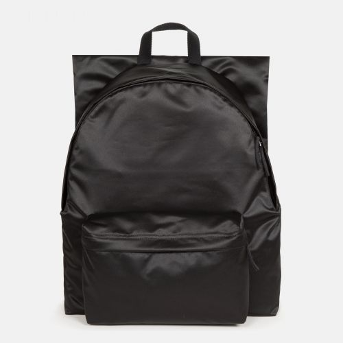 Raf Simons Poster Padded Satin Boy Blue Backpacks by Eastpak - Front view