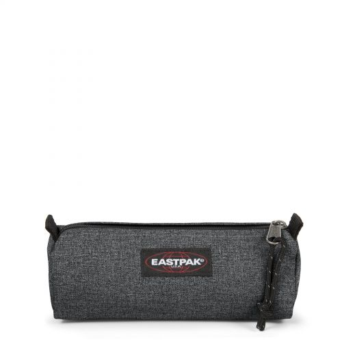 Benchmark Black Denim Accessories by Eastpak - Front view