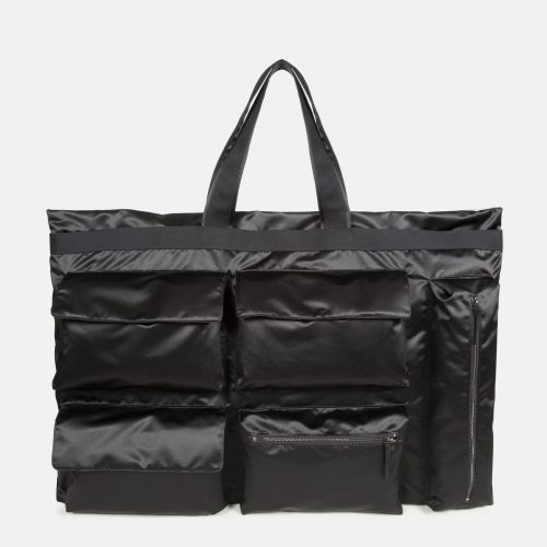 Raf Simons Poster Tote Satin Punk Blue Shoulderbags by Eastpak - Front view