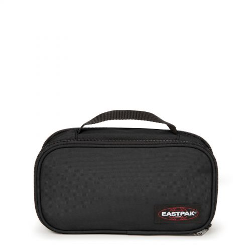 Flat Oval L Black Accessories by Eastpak - Front view