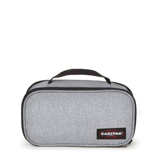 Flat Oval L Sunday Grey Accessories by Eastpak - Front view