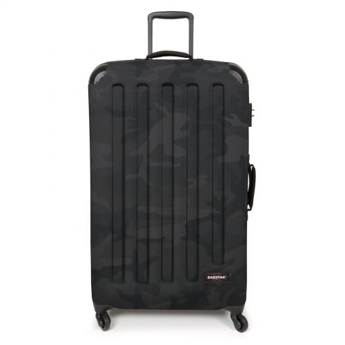 Tranzshell XL Tonal Camo Dark Luggage by Eastpak - Front view