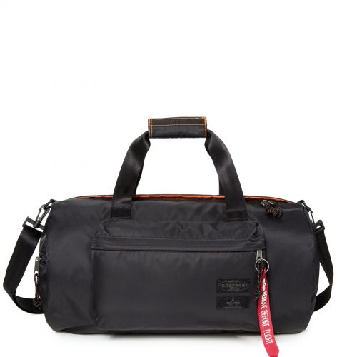 Calum Alpha Black Luggage by Eastpak - Front view