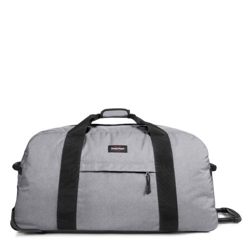 Container 85 Sunday Grey Luggage by Eastpak - Front view