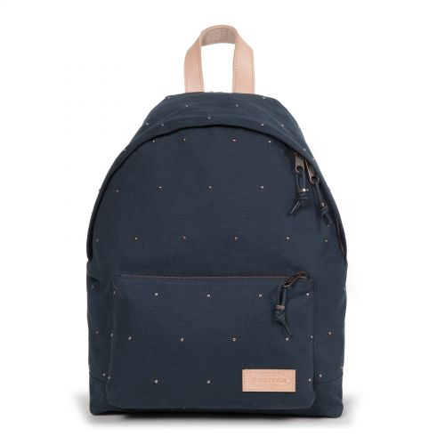Padded Sleek'r Studded Navy by Eastpak - Front view