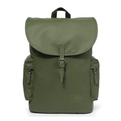 Austin Brim Khaki Backpacks by Eastpak - Front view