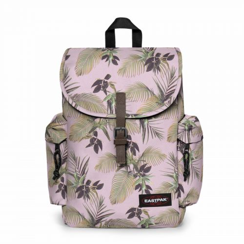 Austin Brize Mel Pink Backpacks by Eastpak - Front view