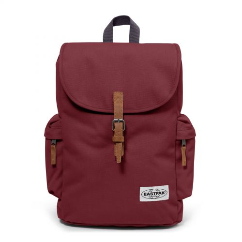 Austin Opgrade Grape by Eastpak - Front view