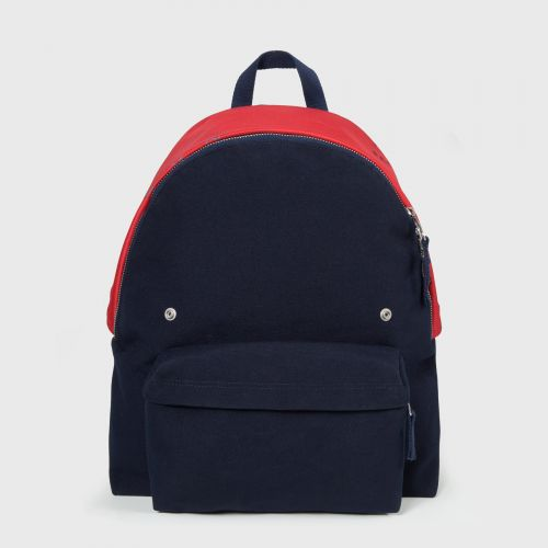 RS Padded Pak'R Navy Canvas SS18 Backpacks by Eastpak - Front view